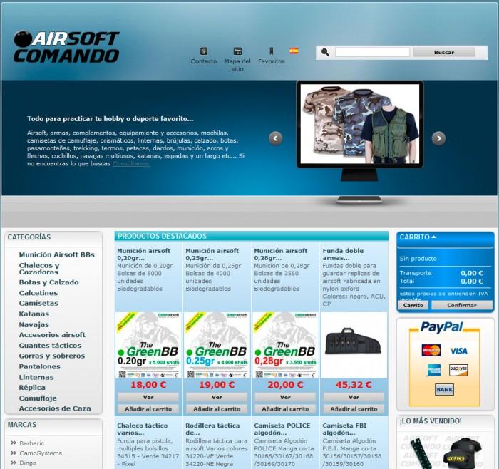 tienda online airsoft malaga prestashop