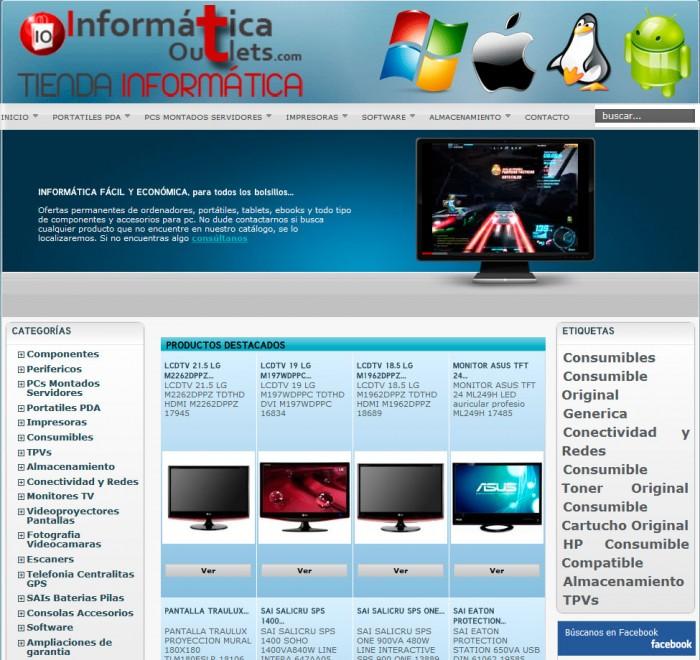 tienda online informatica prestashop