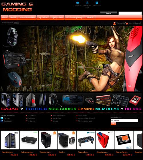 tienda online malaga prestashop gaming modding