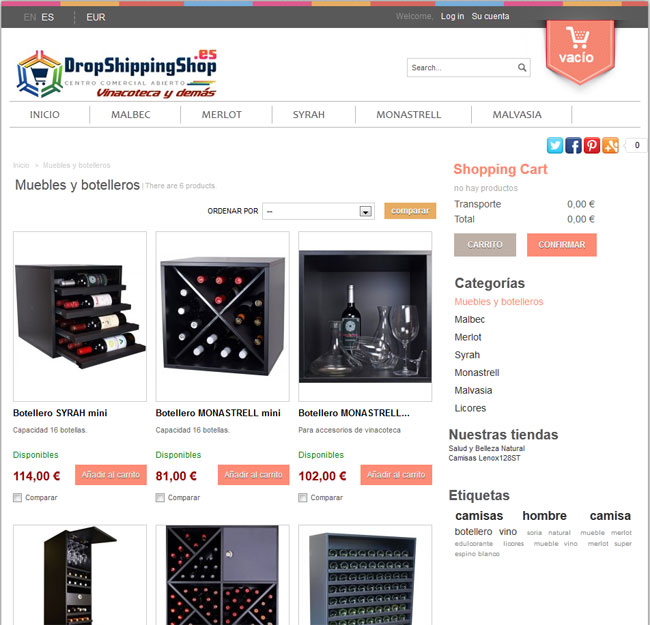 Multitienda en Prestashop