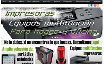 Tienda informatica en Prestashop