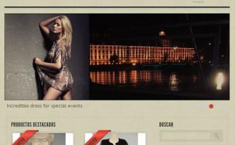 Tienda online creada en Prestashop