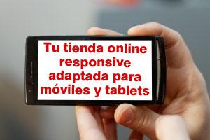 tienda online con diseño responsive